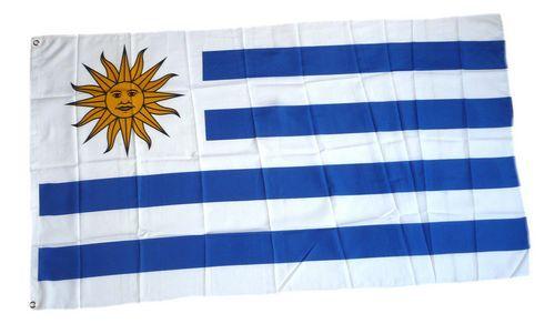 Flagge / Fahne Uruguay Hissflagge 90 x 150 cm