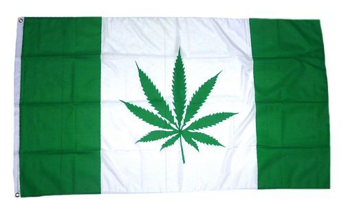 Fahne / Flagge Kanada Hanfblatt 90 x 150 cm