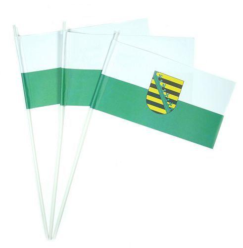 Papierfahnen Sachsen