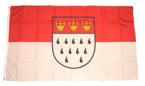 Flagge / Fahne Köln Hissflagge 90 x 150 cm