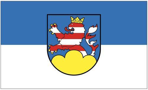 Fahne / Flagge Frankenberg Eder 90 x 150 cm