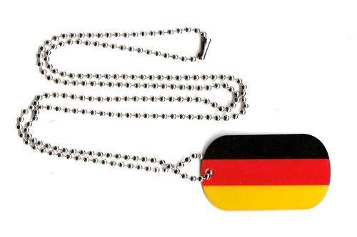 Dog Tag Fahne Deutschland