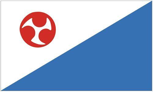 Fahne / Flagge Südkorea - Jejudo 90 x 150 cm