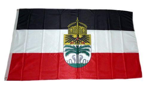 Fahne / Flagge Deutsch Togo Krone 90 x 150 cm