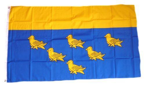 Fahne / Flagge England - West Sussex 90 x 150 cm