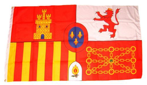 Flagge / Fahne Spanien Royal Hissflagge 90 x 150 cm