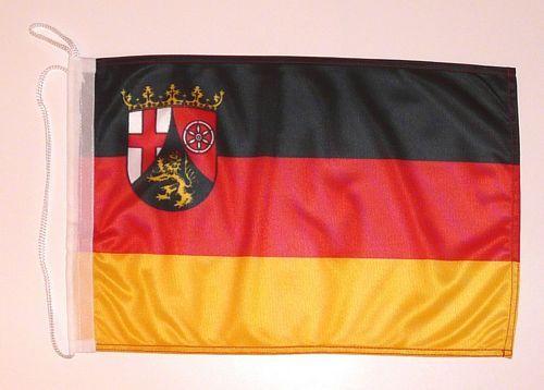 Bootsflagge Rheinland Pfalz 30 x 45 cm