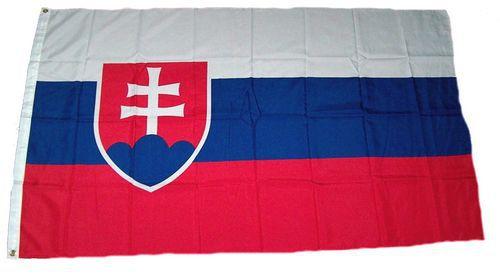 Flagge / Fahne Slowakei Hissflagge 90 x 150 cm