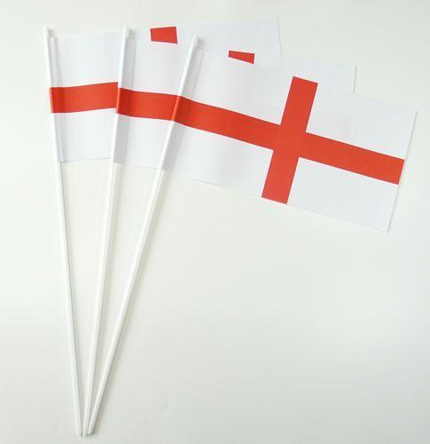 10 Papierfähnchen England Papierfahnen Fahne Flagge