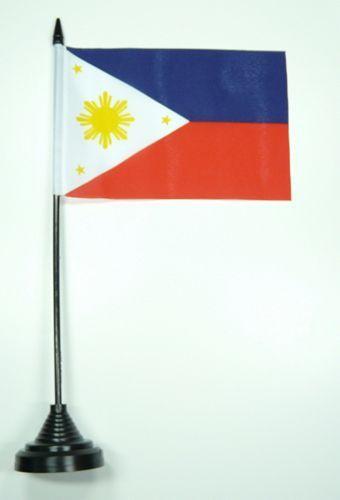 Fahne / Tischflagge Philippinen NEU 11 x 16 cm Flaggen