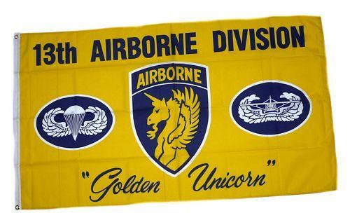 Fahne / Flagge 13th Airborne Division 90 x 150 cm