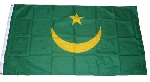 Flagge / Fahne Mauretanien Hissflagge 90 x 150 cm