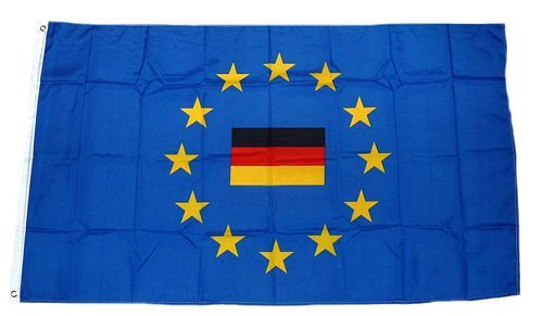 Fahne / Flagge Europa Deutschland 90 x 150 cm