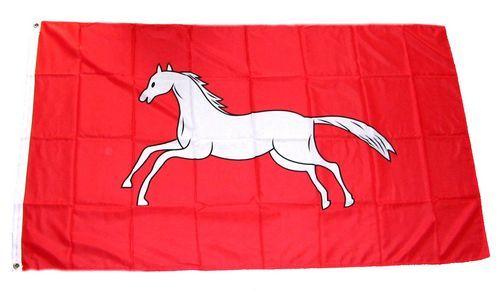 Fahne / Flagge Hannover alt 90 x 150 cm
