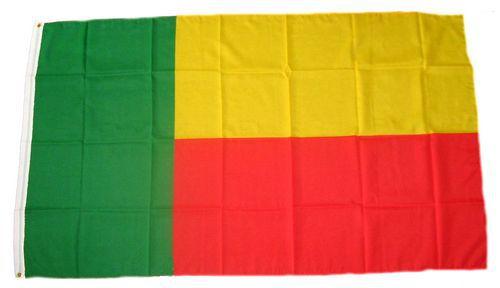 Flagge / Fahne Benin Hissflagge 90 x 150 cm