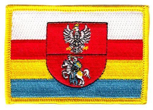 Fahnen Aufnäher Polen - Podlachien