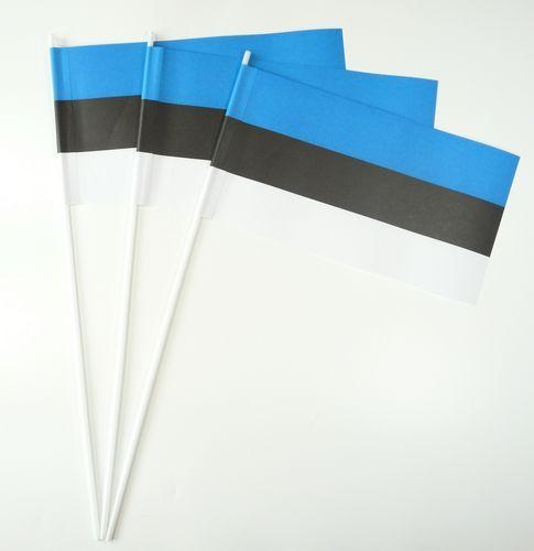 10 Papierfähnchen Estland Papierfahnen Fahne Flagge