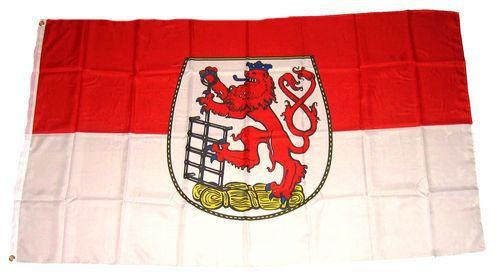 Flagge / Fahne Wuppertal Hissflagge 90 x 150 cm