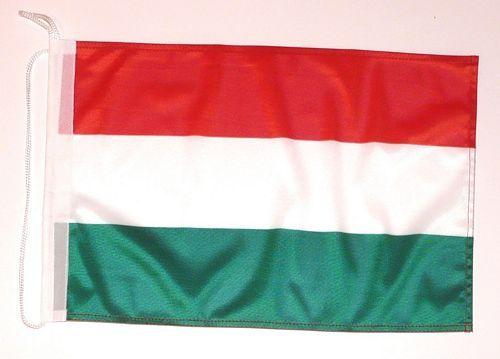 Bootsflagge Ungarn 30 x 45 cm