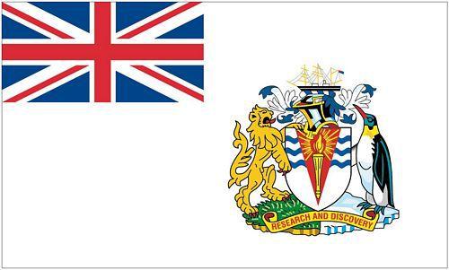 Flagge / Fahne Britisches Antarktis Territorium Hissflagge 90 x 150 cm