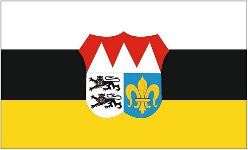 Fahne / Flagge Landkreis Würzburg 90 x 150 cm